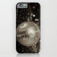 Christmas Greeting -- Ol… iPhone 6 Slim Case