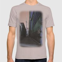 shining spire... Mens Fitted Tee Cinder SMALL