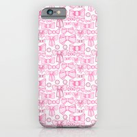 bows pink iPhone 6 Slim Case