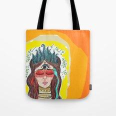 third eye Tote Bag