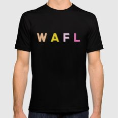 WAFL Light Black SMALL Mens Fitted Tee