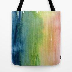 Fade Into Rainbows Tote Bag