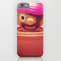 iPhone & iPod Case featuring Pop-up Pirate by StaceeIrvine
