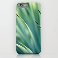 Spiked Leaves on a Slant iPhone 6 Slim Case