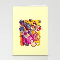 Beware The Blue Shell Stationery Cards
