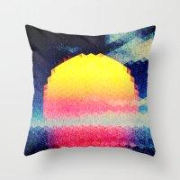 The Sun # 3 Throw Pillow