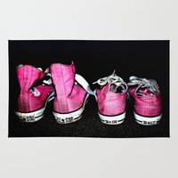 Pink Shoes Rug