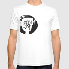 good job White Mens Fitted Tee SMALL