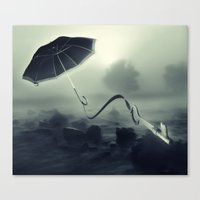 Hope Floats Away Canvas Print