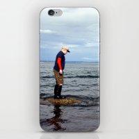 A boy and The Sea 2 iPhone & iPod Skin