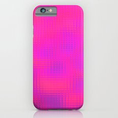 Blurry pink glass iPhone 6 Slim Case