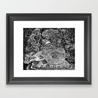 Swamp Witch Framed Art Print