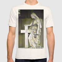 Green angel Mens Fitted Tee Natural SMALL
