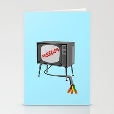 Freedom Television Stationery Cards