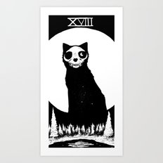 XVIII - The Moon Art Print