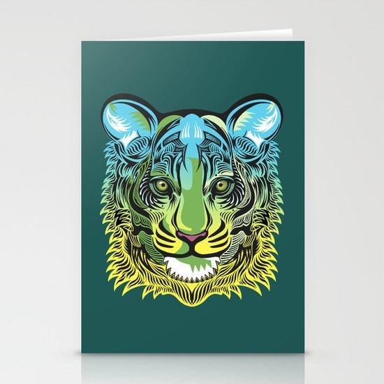 Nocturnal Predator Stationery Card