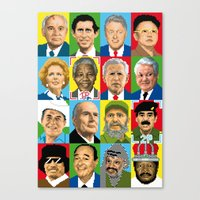 Select Your Politic Canvas Print
