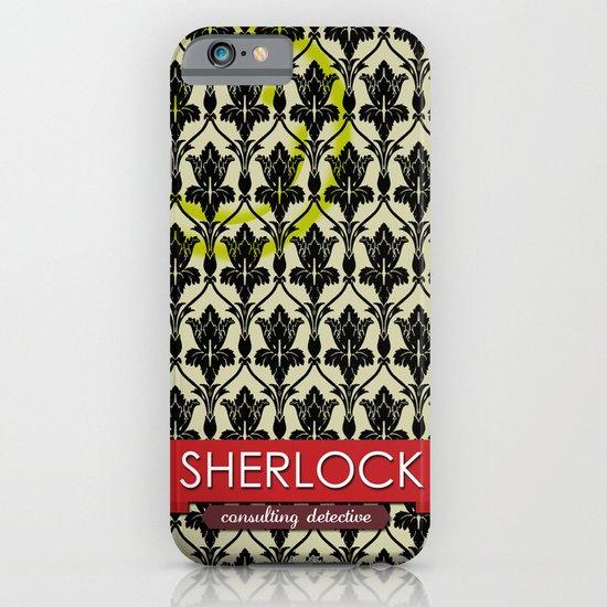 Sherlock Poster 1 iPhone & iPod Case