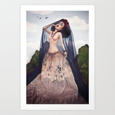 A Lover's Dream Art Print