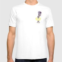 smokin' Mens Fitted Tee White SMALL