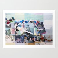 Man Down Art Print