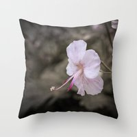 Delicate Reach Throw Pillow