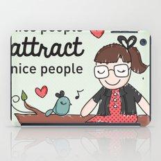 Nice people iPad Case