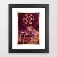 King Lear Shakespeare Fo… Framed Art Print