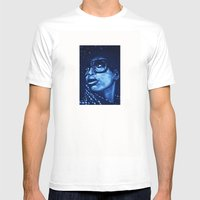 Badu?!-blue Mens Fitted Tee White SMALL