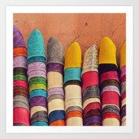 Babouches Art Print