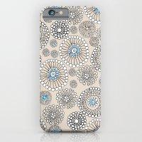 Flower bubble iPhone 6 Slim Case