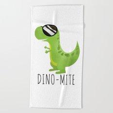 Dino-Mite Beach Towel