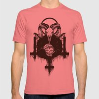 Satan Mens Fitted Tee Pomegranate SMALL