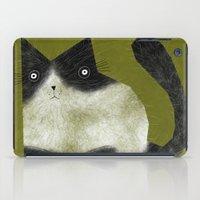 BRISTLE CAT iPad Case