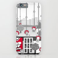 iPhone & iPod Case featuring SF Mobile World by Superfried