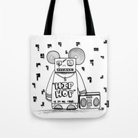 hip hop is all the rage Tote Bag