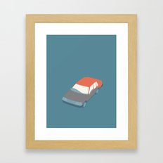 BILVASK ( car wash)  Framed Art Print