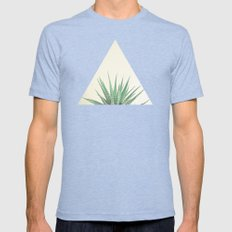 Haworthia Mens Fitted Tee Tri-Blue SMALL
