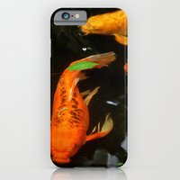 iPhone & iPod Case featuring Fish Pond by Elisa Camera