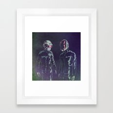The Robots Framed Art Print