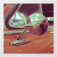 Canvas Print featuring Classic mirror by Vorona Photography