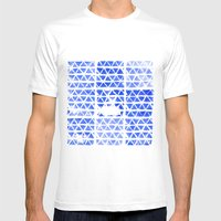 triangle stamp Mens Fitted Tee White SMALL