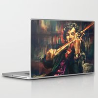 alice Laptop & iPad Skins featuring Virtuoso by Alice X. Zhang