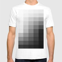 Fifty Shades of Gradient Mens Fitted Tee White SMALL