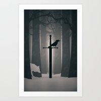 The Long Winter Art Print