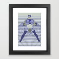 The Hanging Legs  Framed Art Print