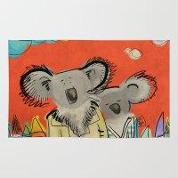 Koalas Rug
