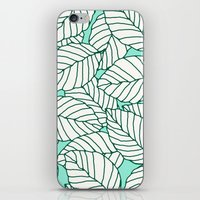 Sweet Leafs: Mint iPhone & iPod Skin