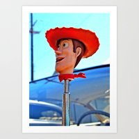 Woody forever! Art Print