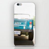 Jeep Scrambler Summer iPhone & iPod Skin